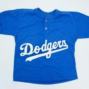 Dodgers Majestic Blue Fan Shirts NWOT